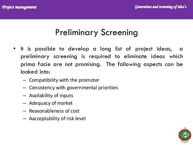 preliminary product screening report Definition of preliminary in the definitionsnet dictionary meaning of preliminary what does preliminary mean information and translations of preliminary in the most comprehensive.
