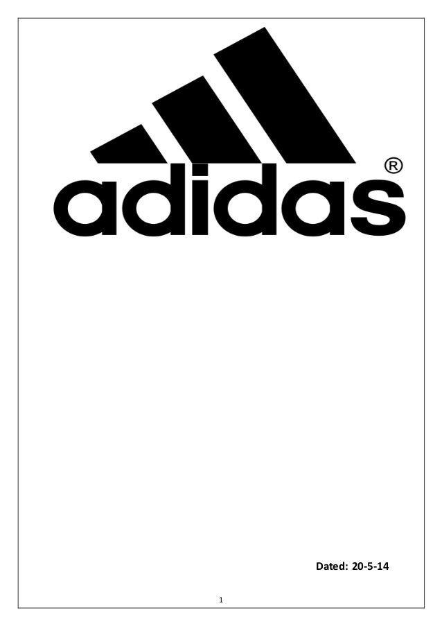 Project Report Adidas