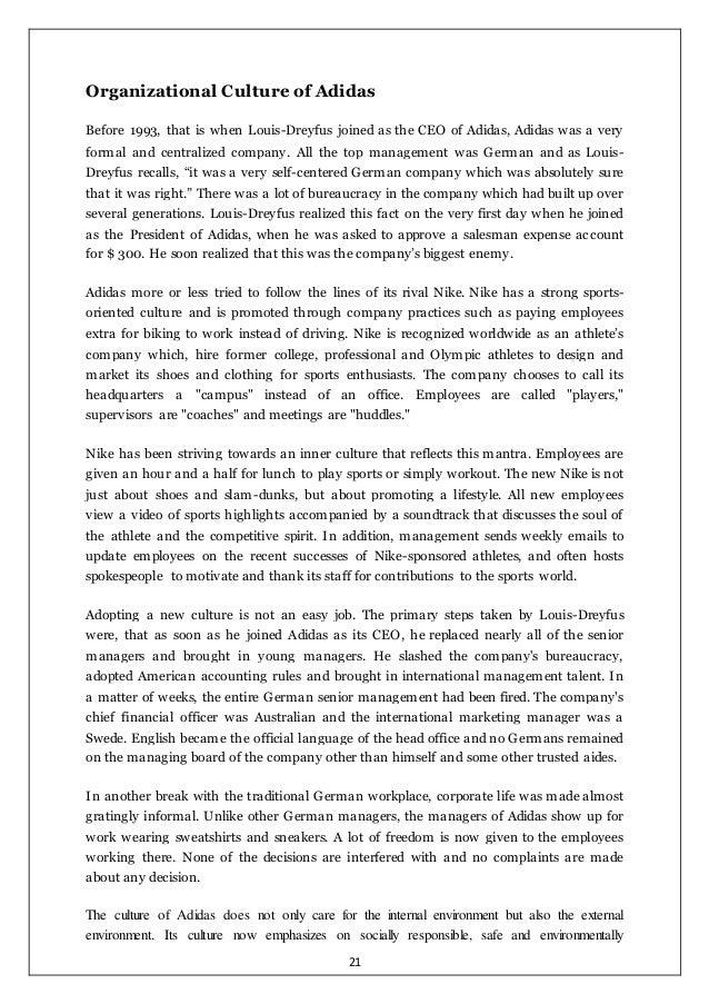 essays organisational culture