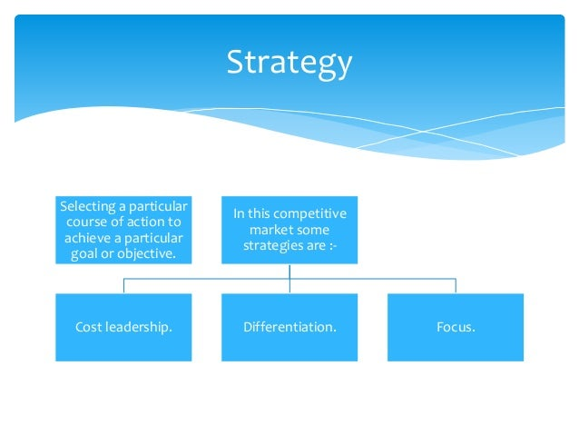  Maximum lowest price.  Maintaining high standard.  Giving leadership or competitive advantage over all competitors. Co...