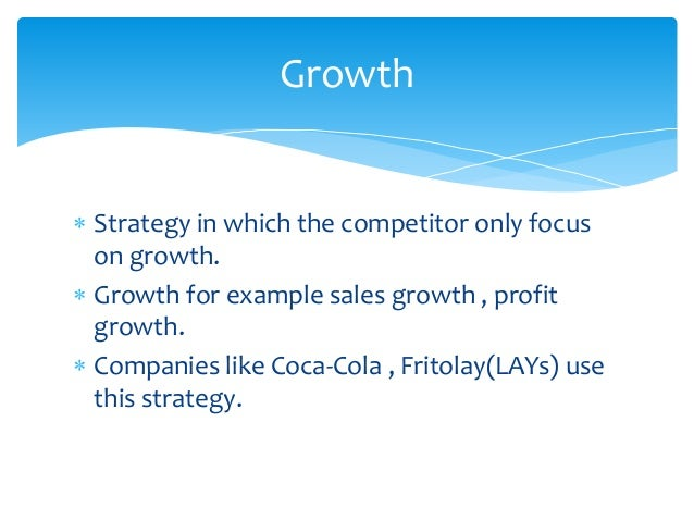  Competitors try to renew their strategy.  Due to failures of strategy in the past.  Retrenchment means renewal for sho...