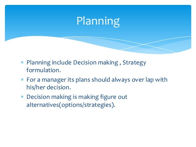 Decision making process has 8 steps. • Identifying problem. • Identifying decision making criteria. • Allocating weight to...