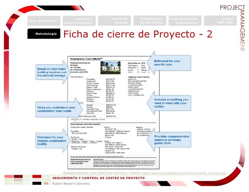 Project Management Control Y Seguimiento De Costes De Proyecto