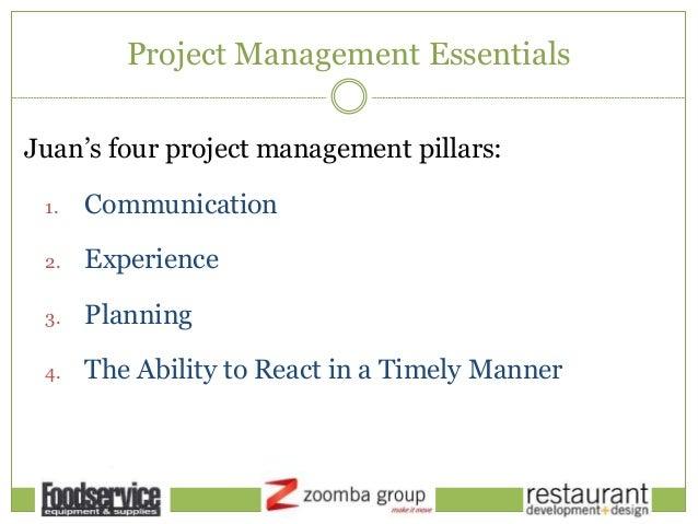 Restaurant development design project management