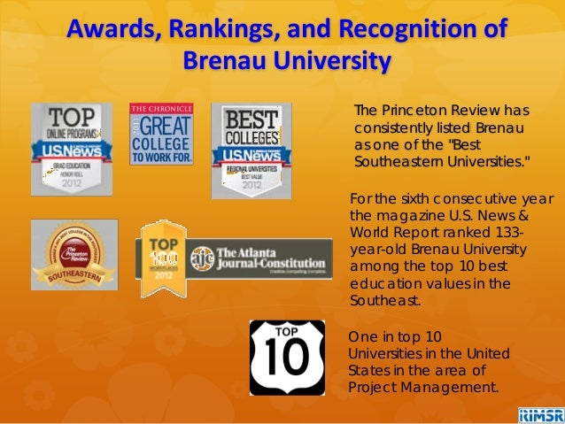 For the sixth consecutive year the magazine U.S. News & World Report ranked 133- year-old Brenau University among the top ...