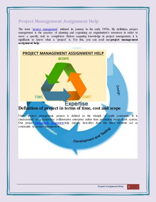 project management assignment help We are experts in providing project management assignment help in australia plagiarism-free writing, quality academic papers and always online support.