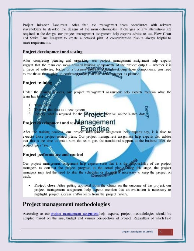 project management assignment help  project strategy business case and 5 urgent assignment help