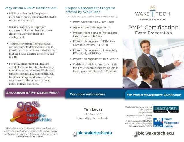 Project Management Professional Pmp Certification Preparation Through