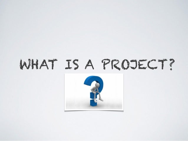 Project Management Concepts (from PMBOK 5th Ed) Slide 3