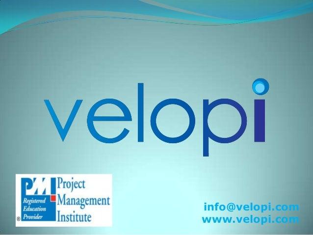info@velopi.com www.velopi.com