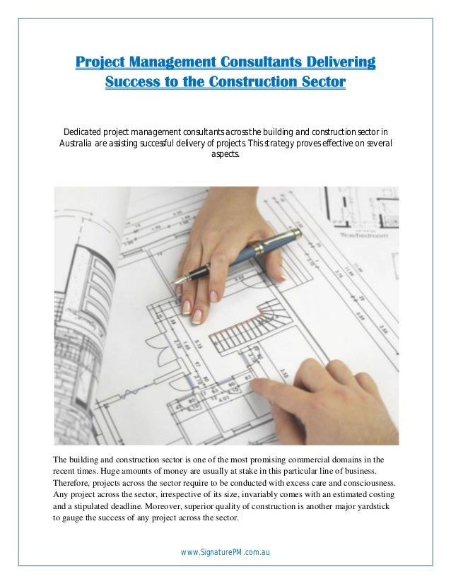 www.SignaturePM.com.au Dedicated project management consultants across the building and construction sector in Australia a...