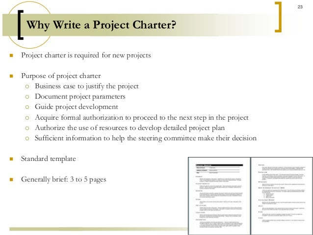 How to Write a Work Charter