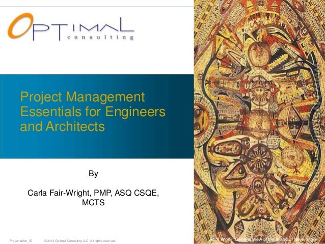 Project Management      Essentials for Engineers      and Architects                                                By    ...