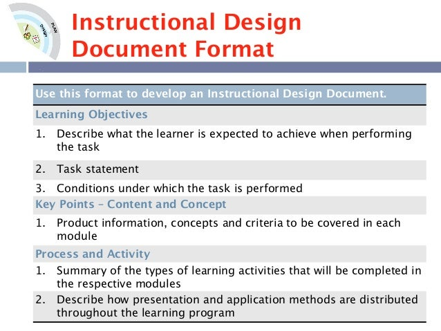 Instructional design analysis template gallery template for Instructional design analysis template