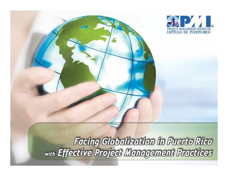 Jorge  L.  Vargas,  PMP    Project  Management…   Globaliza4on  and  Cultural  Diversity