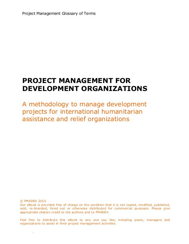 Earned value management a brief introduction annotated ebook 7 project management array project management glossary of terms rh slideshare fandeluxe Images