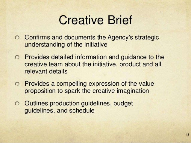 creative strategies in advertising marketing essay The client must craft a sound strategy for its brand, based on facts, not wishful thinking and self-delusionthe client must carefully define the role of advertising in the marketing plan and set precise communication objectives for the advertising.