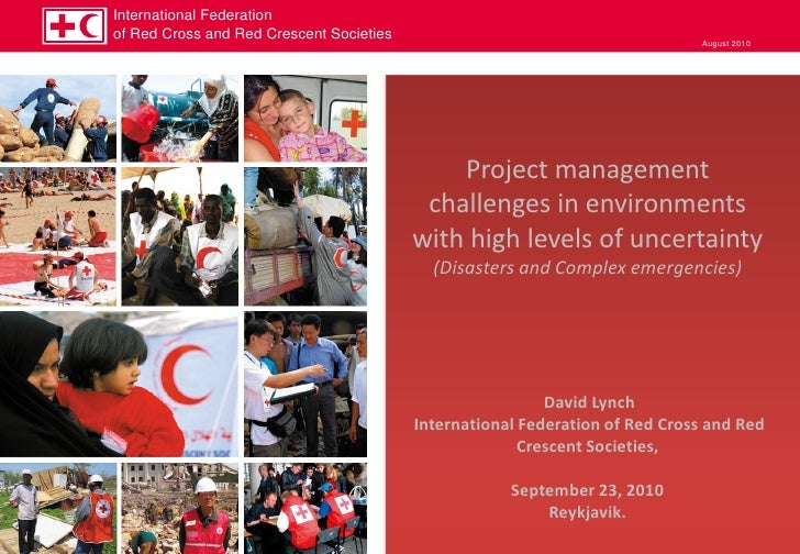 International Federation of Red Cross and Red Crescent Societies                                       August 2010        ...