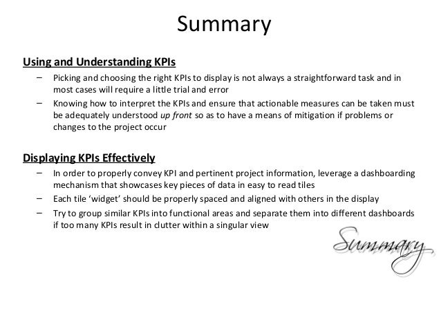 management summary examples