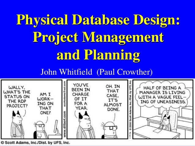 Database Project Management