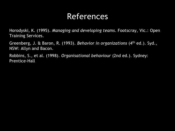 have the project sponsor give a pep talk</li></li></ul><li>Rejuvenating the Project Team<br />Formal Techniques<br /><ul><...