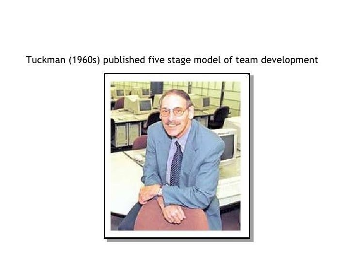 Tuckman (1960s) published five stage model of team development <br />