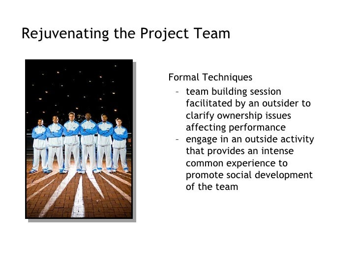 Recruiting Project Members<br />Factors affecting recruiting<br /><ul><li>importance of the project