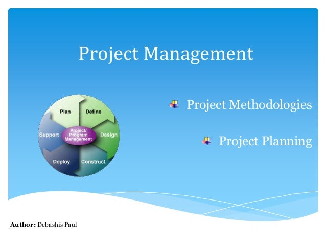 essay on project management