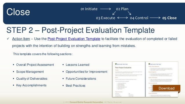 Project Management Methodology - Project management approach template