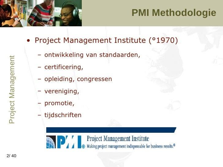 Project Management Meth V1 2006 Slide 2