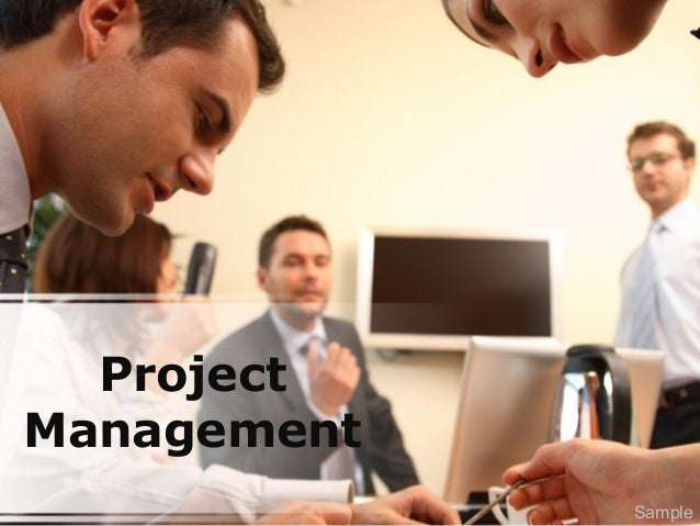 Project Management Sample