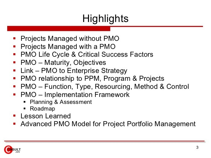 are critical to effective pmo implementation atekpc Program management and planning: ad 646 ad 646 b1: spring 2013 professor greiman class location: cas bo6a, tuesday 6:00.