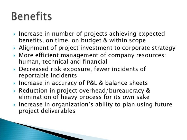 The Projects And Advantages Of Go4cork S Cork: Project Management Office Roles Functions And Benefits