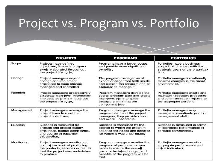 project program and portfolio management pdf