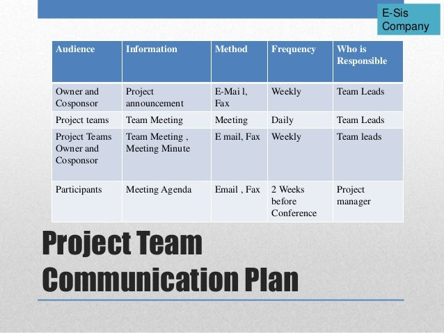 Project Management Communications Plan Essay Academic Service