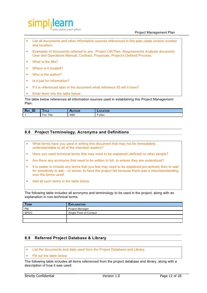 Project Manual Template Construction Project Manual Template Sample