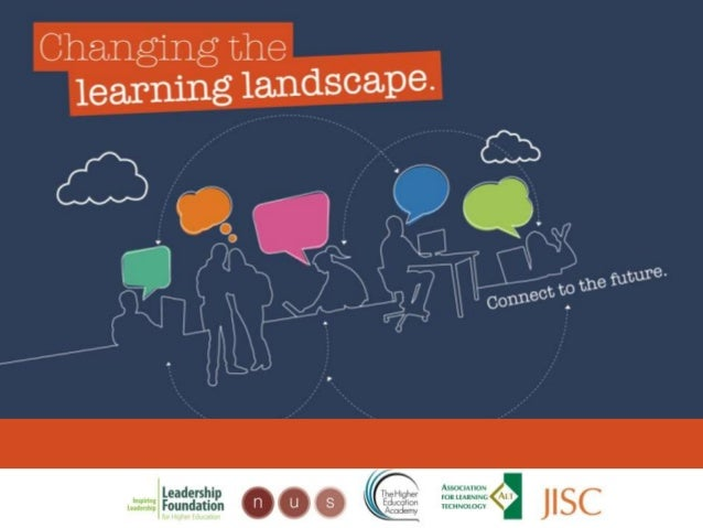 Changing the learning landscapeManaging the project to ensuremomentum and embedding of newpractice(keeping it going and ke...