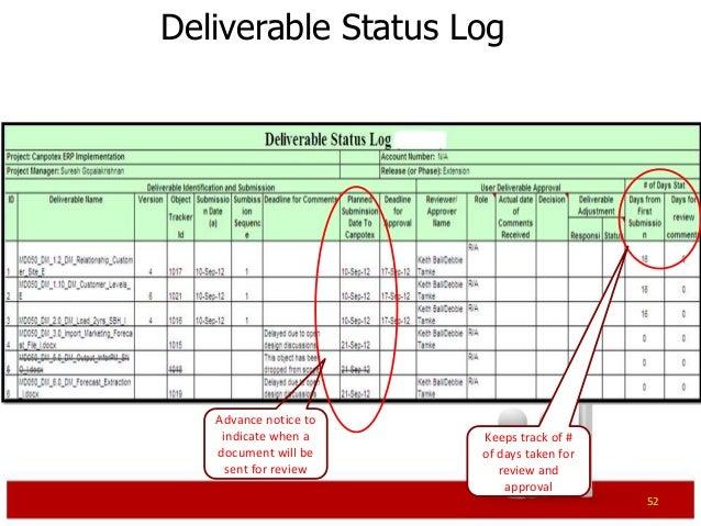 ERP Project Management Primer – Decision Log Template