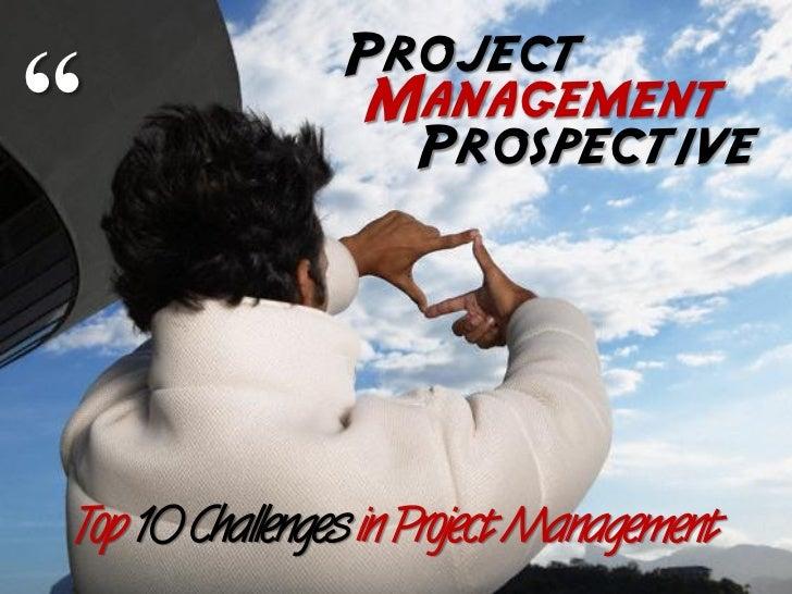 Project Management Prospective