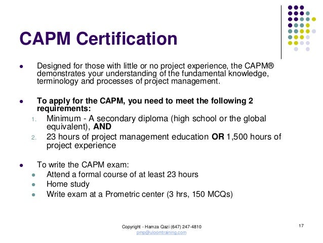 Project management courses home study