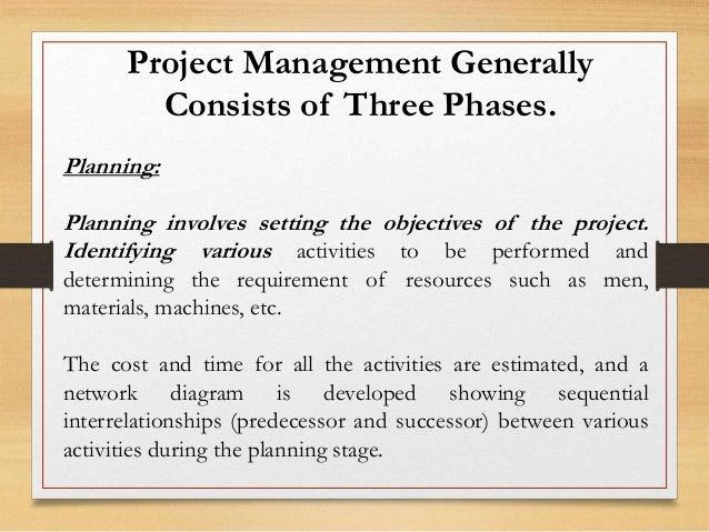 Project management techniques cpm pert techniques 6 project management generally consists of ccuart Image collections