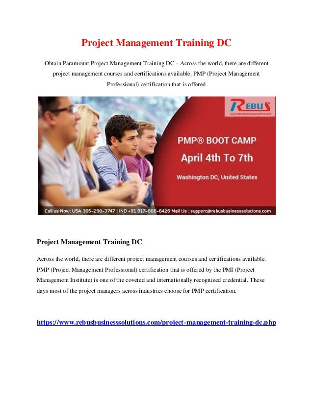 Project Management Training Dc