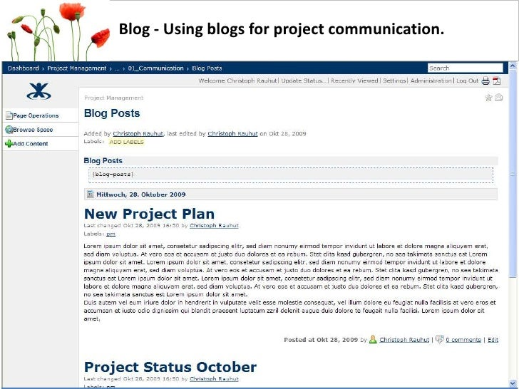 Project Management With Atlassian Confluence