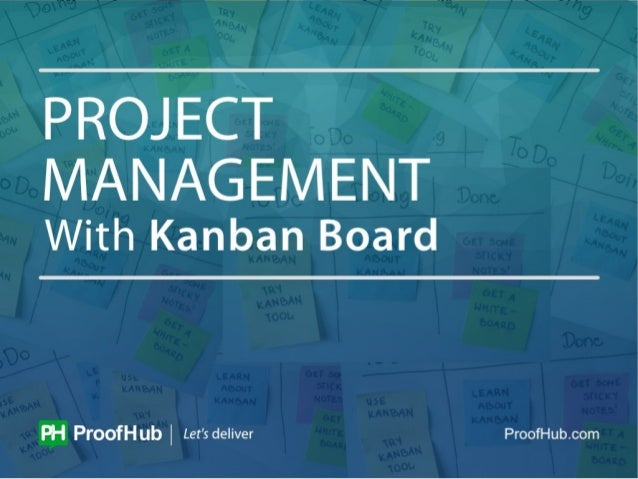 Project Management With Kanban Board