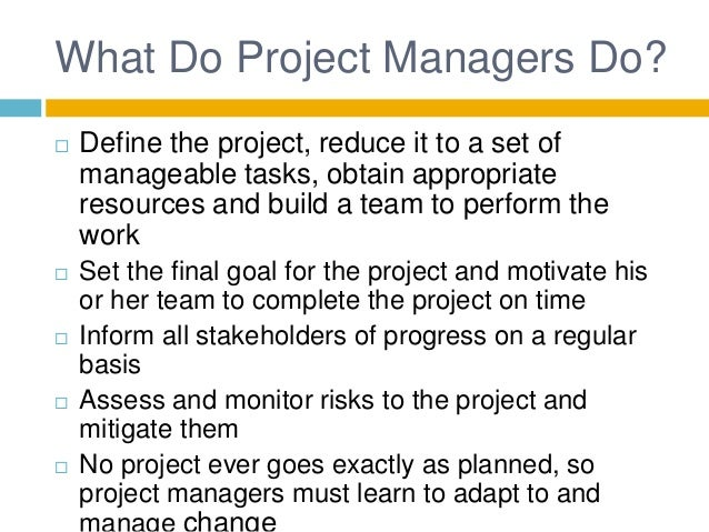 intro to project management Unm continuing education offers certificate programs and courses that meet  expectations for professional development in project management our project.