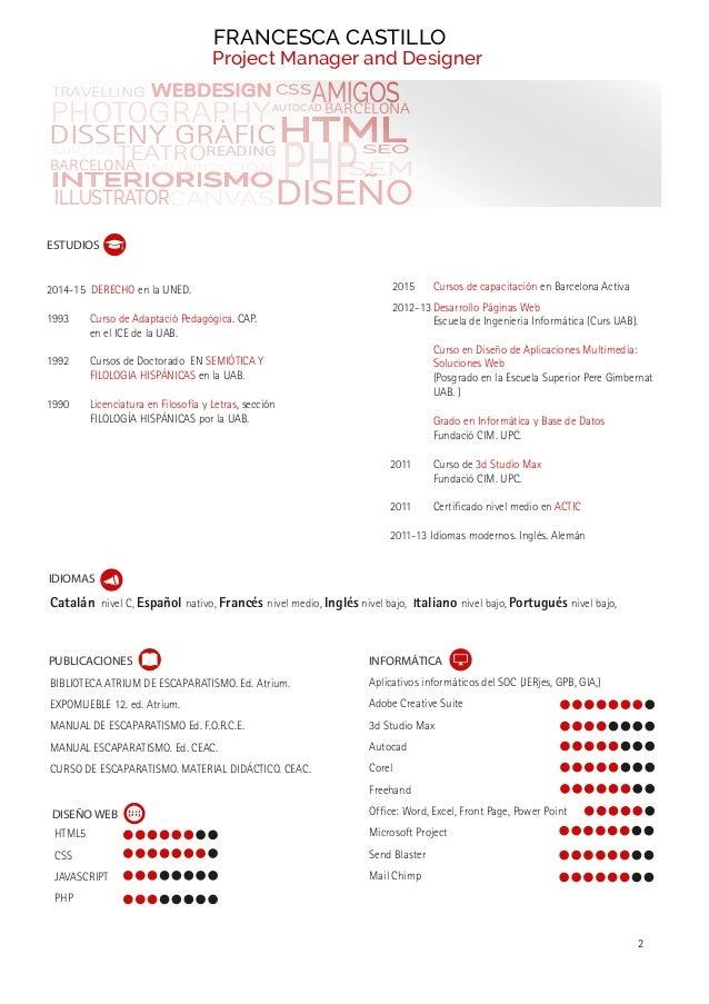 Project manager 1 for Curso de interiorismo barcelona