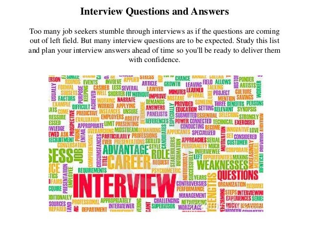 Project Manager Interview Question And Answer Pdf. Interview Questions And  Answers Too Many Job Seekers Stumble Through Interviews As If The Questions  Are ...