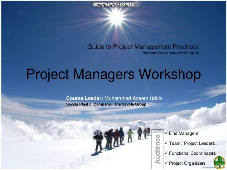 Guide to Project Management Practices                                           Reference Project Management InstituteProj...