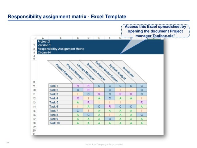project manager toolkit in powerpoint  u0026 excel