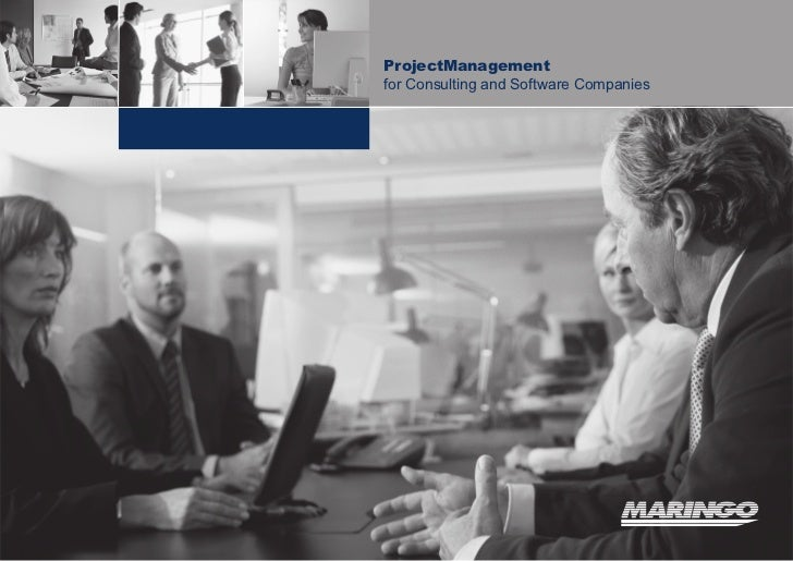 ProjectManagementfor Consulting and Software Companies   1